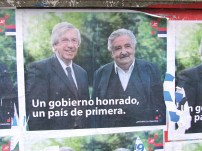 The winning formula Danilo Astori (vicepresident) & Jose Mujica (the new president of Uruguay)